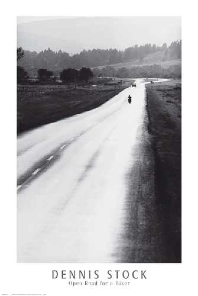 Dennis Stock<br>'Open Road for a Biker'